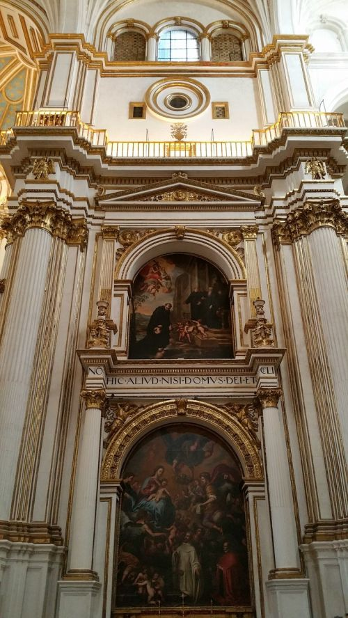granada cathedral cathedral of the incarnation cathedral