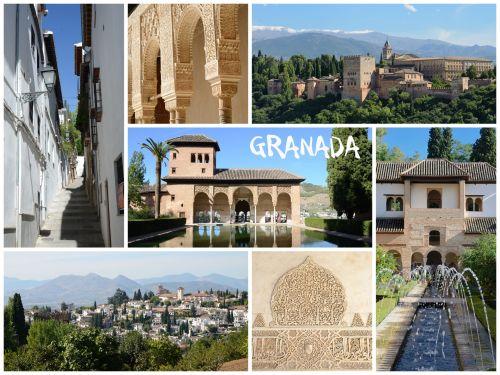 Granada Collage