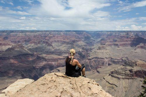 grand canyon girl view