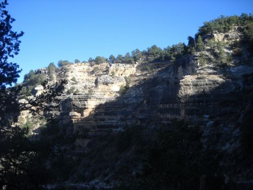 grand canyon rock cliff