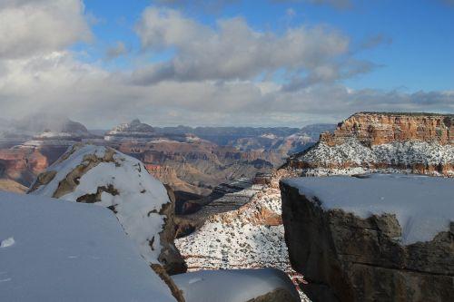 grand canyon winter canyon