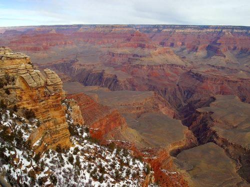 grand canyon gorge arizona