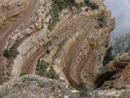 Didysis kanjonas,takas,migracijos kelias,nusileidimas,kelias,toli,kelias,žygiai,žygis,serpentinas,šaligatvis