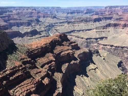 grand canyon south rim desert canyon arizona