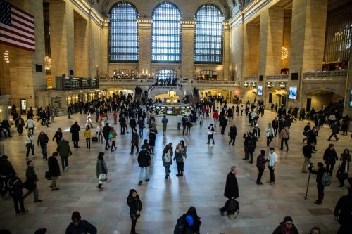Grand Central Station In New York