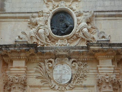grand master coat of arms mdina