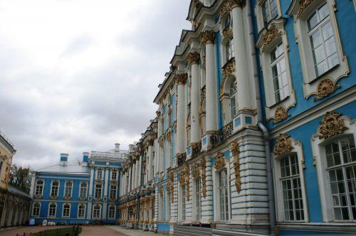 Grand Palace At Tsarskoe Selo