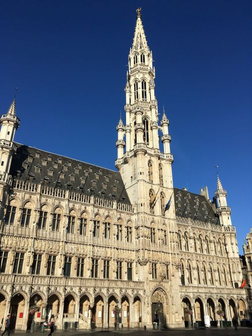 grand place town hall brussels