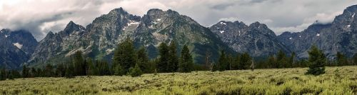 grand teton mountains landscape