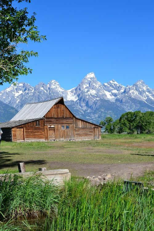 grand teton mountain wyoming