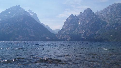 grand teton lake national park