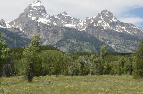 grand teton national park mountain grand