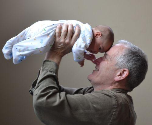 grandfather grandpa baby