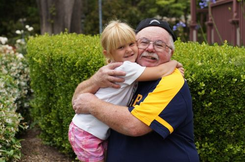 grandfather granddaughter child