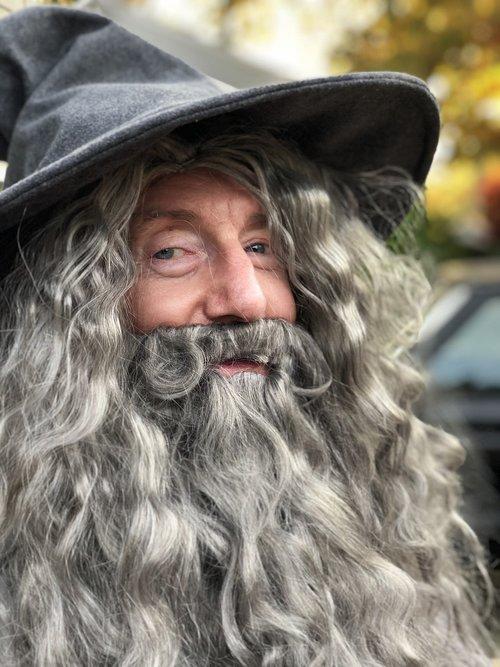 grandfather  halloween  gandalf