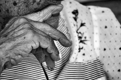 grandmother wrinkles older adult