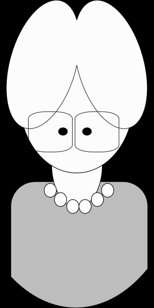 grandmother lady woman