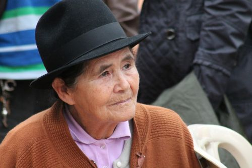 grandmother peasant colombia