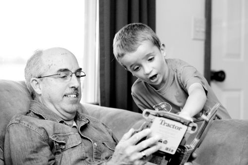 grandpa grandson grandparent