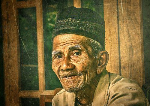 grandpa indonesian parents
