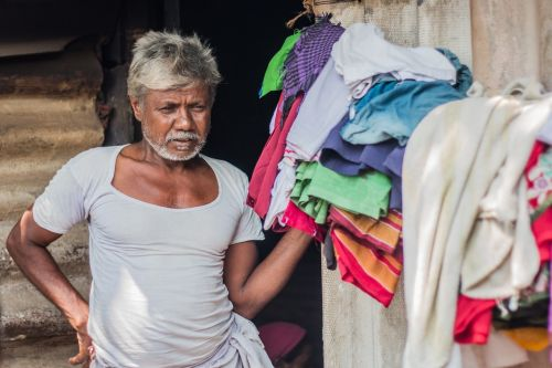 grandpa indian slum