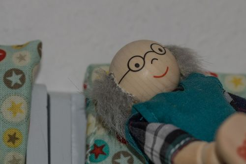 grandpa senior doll