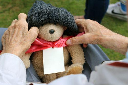 grandparent grandfather teddy