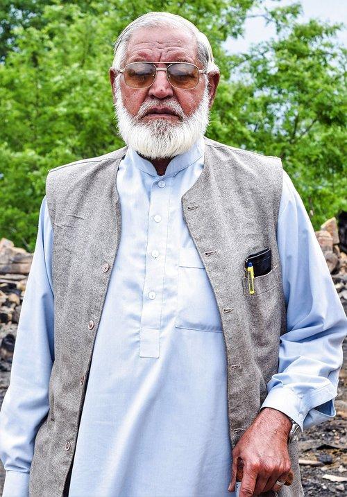 grandparents  old man  pakistan