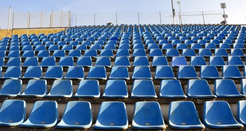 grandstand sit seats