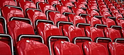 grandstand seat audience
