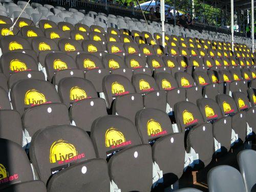grandstand concert folding chair