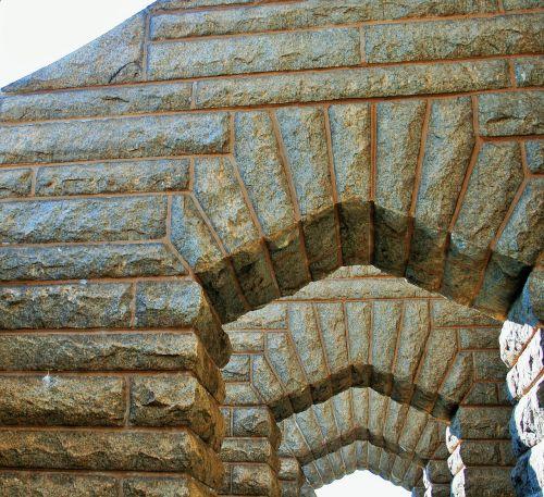 granite arches arches stonework