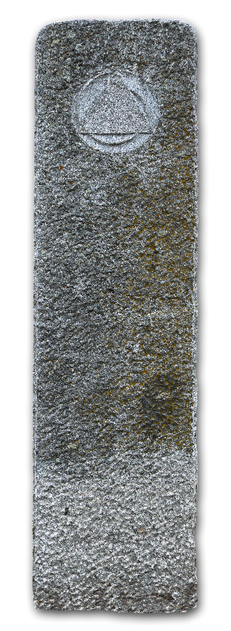 granite column stele natural stone