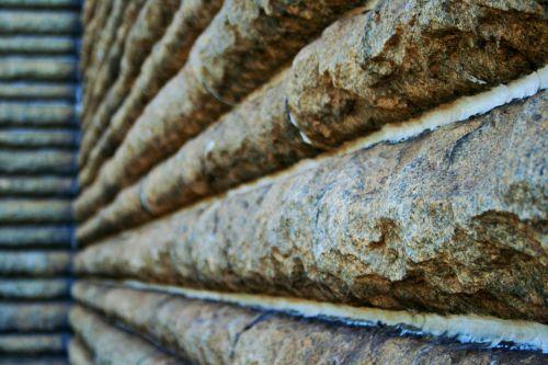 Granite Wall Close-up