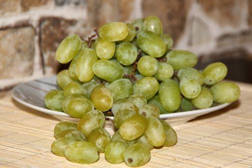 grapes fruit green grapes