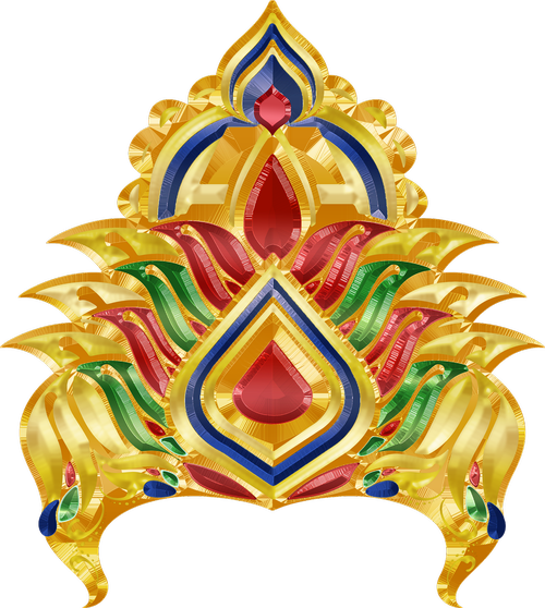 graphic  crown  vishnu