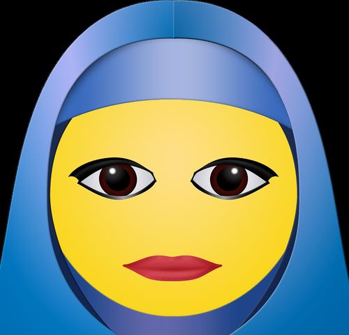 graphic  hijab  woman