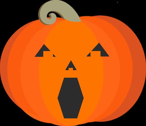 graphic  jack o'lantern  pumpkin