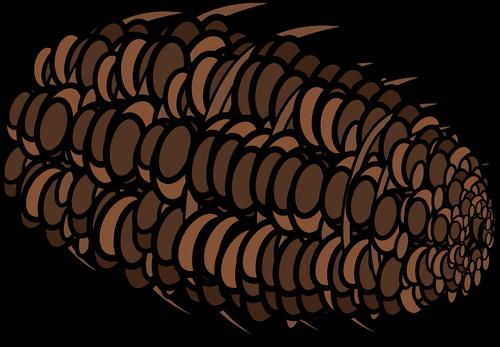 graphic  pine cone  pine