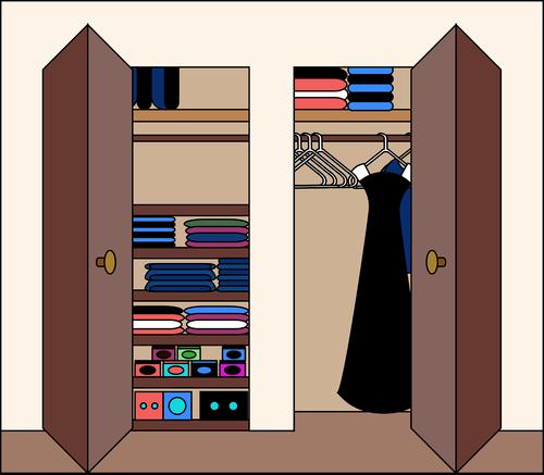 graphic  closet  dress