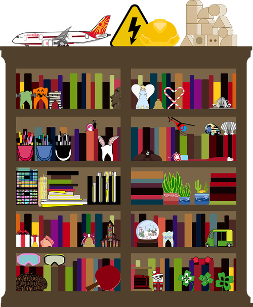 graphic  clutter  cluttered