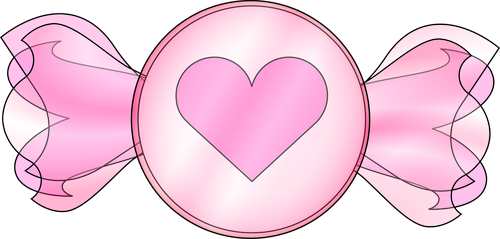 graphic  valentine candy  heart