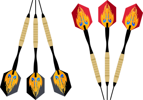 graphic  darts  dart