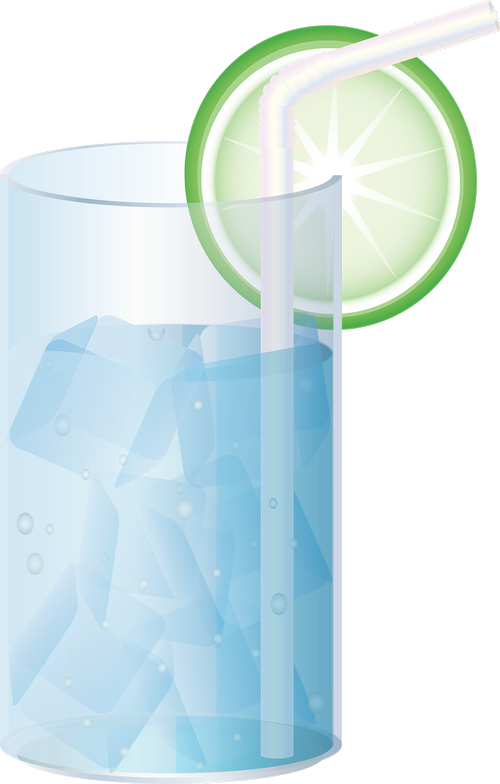 graphic  soda water  water