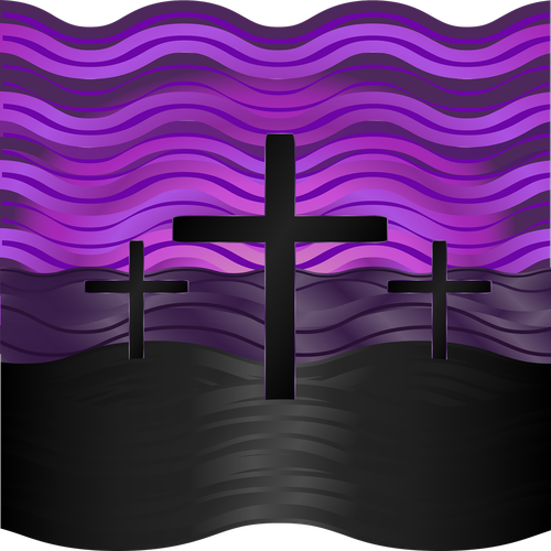 graphic  calvary  easter