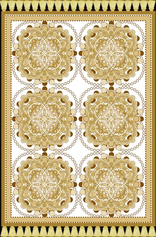 graphic  prayer rug  janamaz