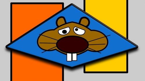 hamster orange graphics
