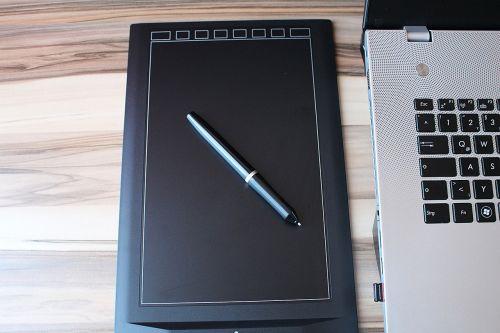 graphics tablet graphic pen laptop