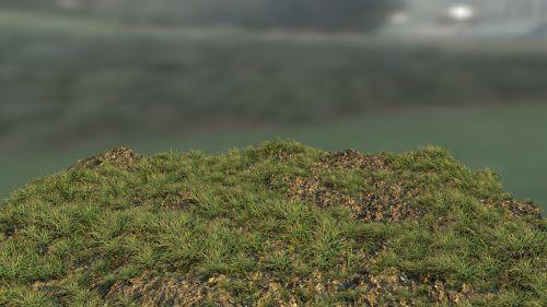 grass blender 3d