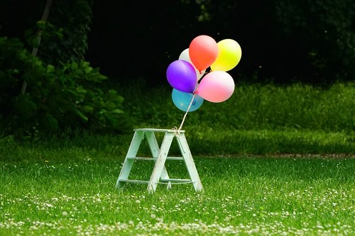 grass  summer  balloon